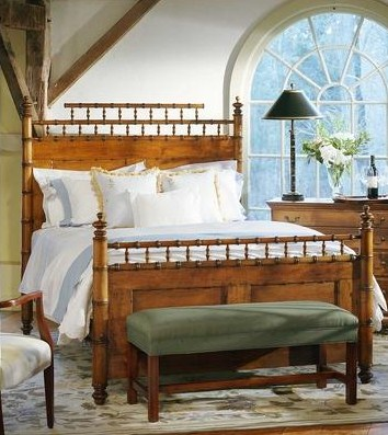 keeping it real faux bamboo bedroom furniture