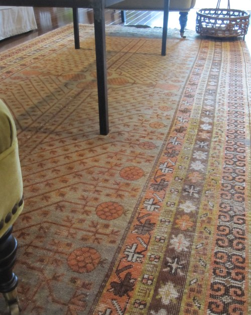 old world rugs preferring patina over perfectionchipped porcelain threadbare