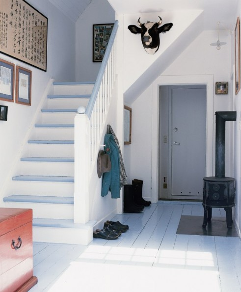 painted stairs Marie Claire Maison via FTRB