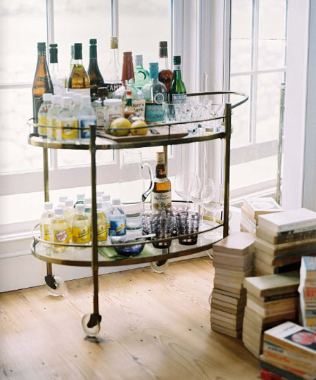 My French Moderne Bar Cart
