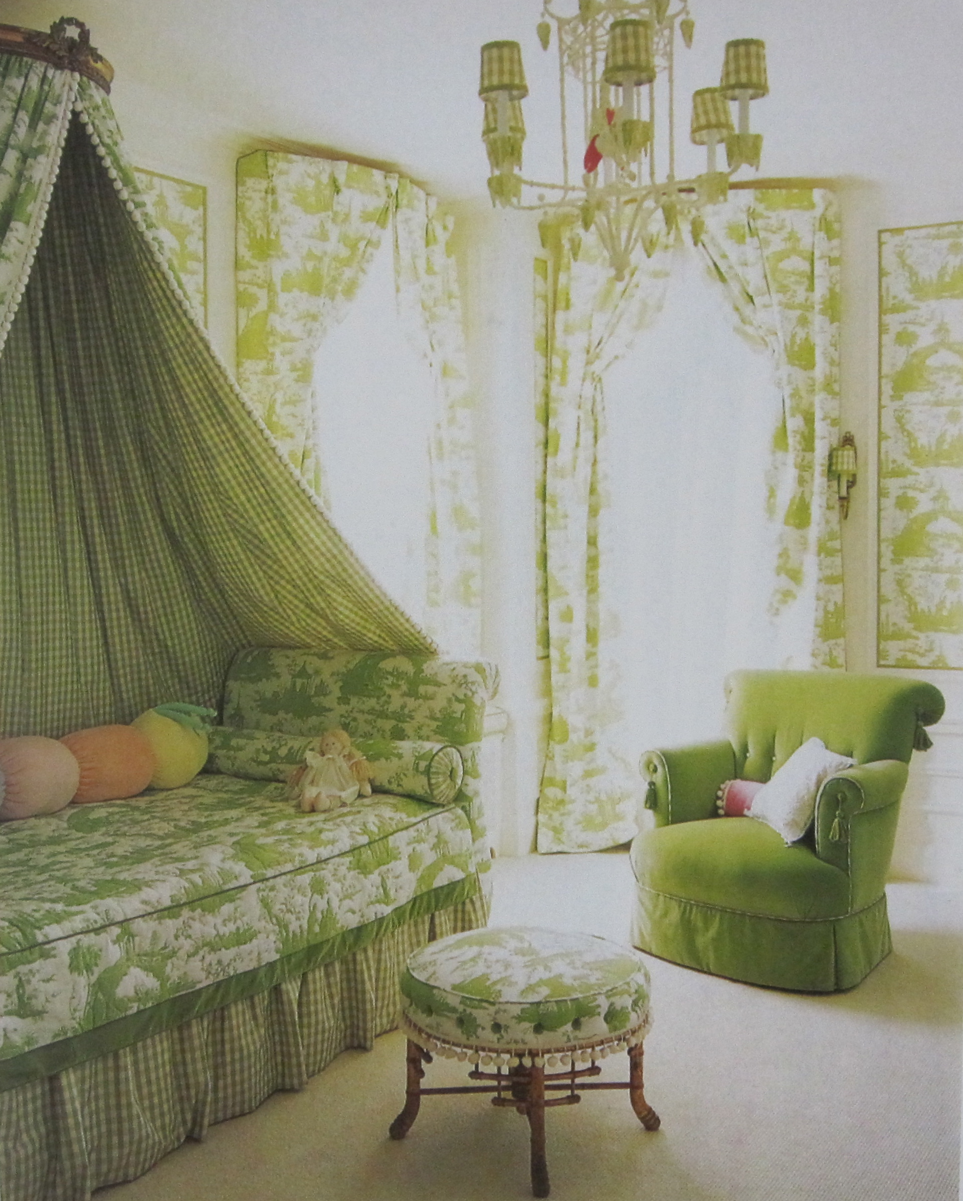 Bedroom Decorating Ideas Totally Toile: Bower Power…A Failsafe Formula For Girls Room Decorating