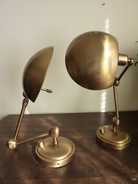 Sweating the Details…A Round-Up of Brass Library Wall Sconces ...