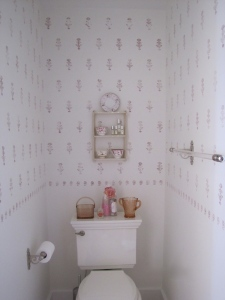 toilet side master bath