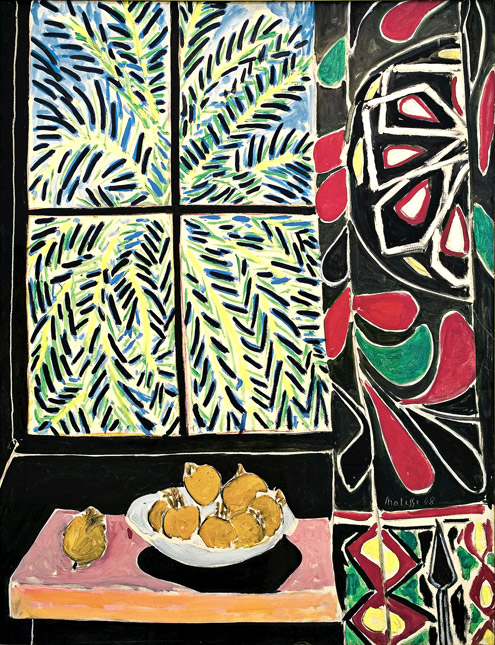 Henri Matisse (French, 1869–1954) Interior with an Egyptian Curtain, 1948