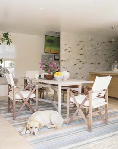 Jeffrey Alan Marks & Ross Cassidy de-gournay-fish-wallpaper_ElleDecor