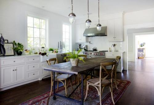 Michelle Mill Valley kitchen on remodelista