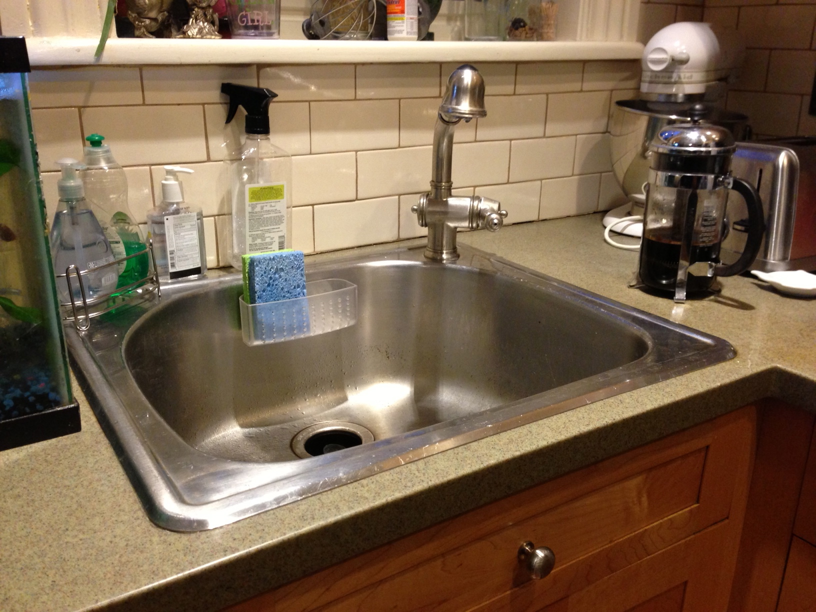 Farmhouse Sink And Faucet : ... Function?A Farmhouse Sink and That Perrin & Rowe Bridge Mixer Faucet