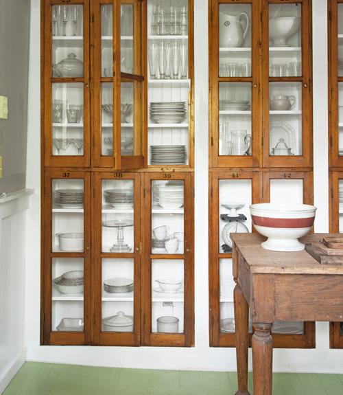 Sean Scherer vintage school locker cabinets CL1111 pc Dana Gallagher