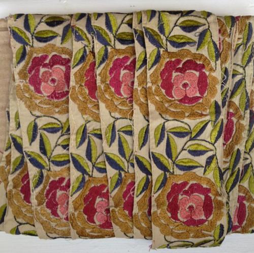 Instagram vintage sari trim