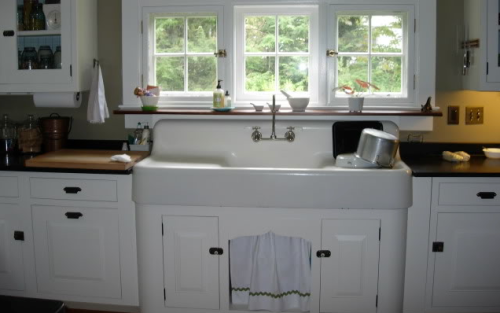 original sink and drainboard
