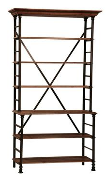 Mecox Gardens Provence Open Shelf Bookcase