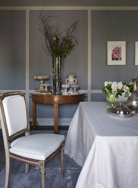 Isabel lopez quesada dining room gray