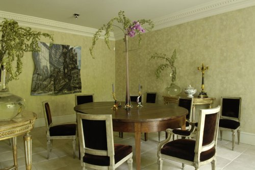 isabel lopez quesada dining room