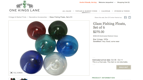 OKL glass floats