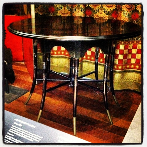 Ebonized Godwin table V & A