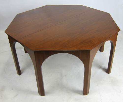 TH Robsjohn-Gibbings Coliseum table for Widdicomb via 1st dibs