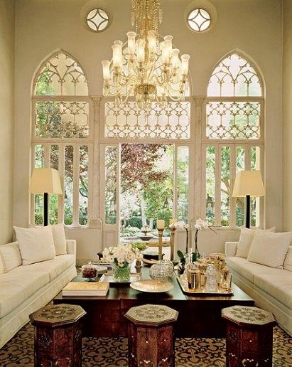 TriforeMagical Triple Windows In Lebanese Houses