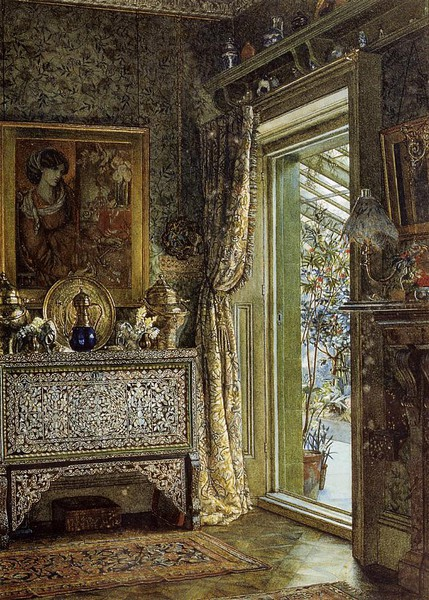 Lawrence Alma-Tadema? The Drawing Room, Holland Park 1887