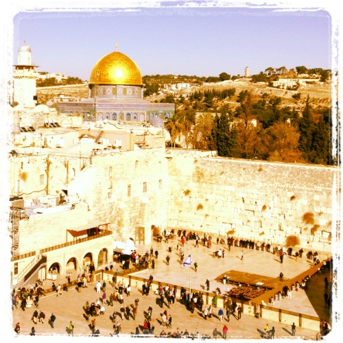 Dome of the Rock Wailing Western Wall