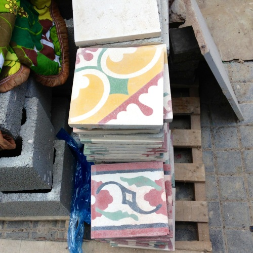encaustic tiles