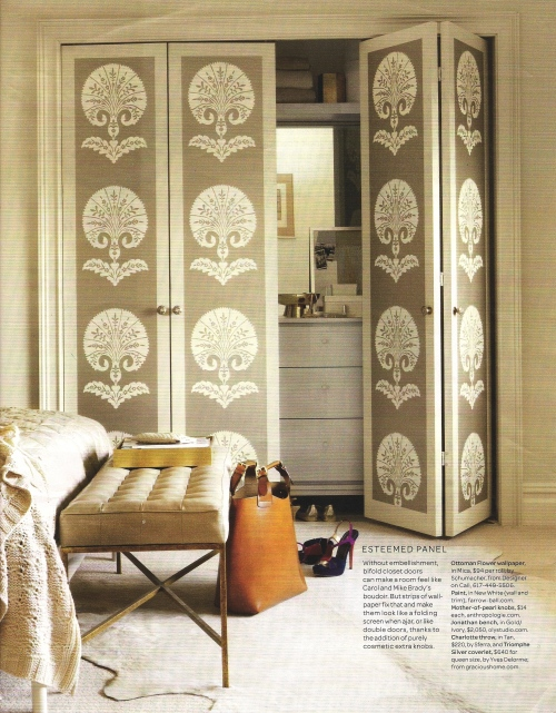 Schumacher's Ottoman Flower via Martha Stewart Living, September 2011 via tilton fenwick