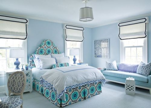 Ashley Whittaker House Beautiful bedroom suzani