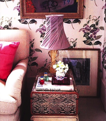 Rita Konig old London bedroom via fallon elizabeth tumblr
